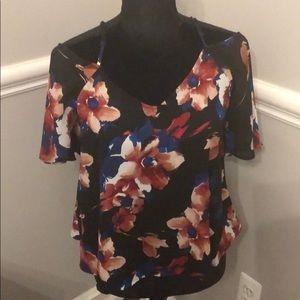 Leith show shoulder blouse